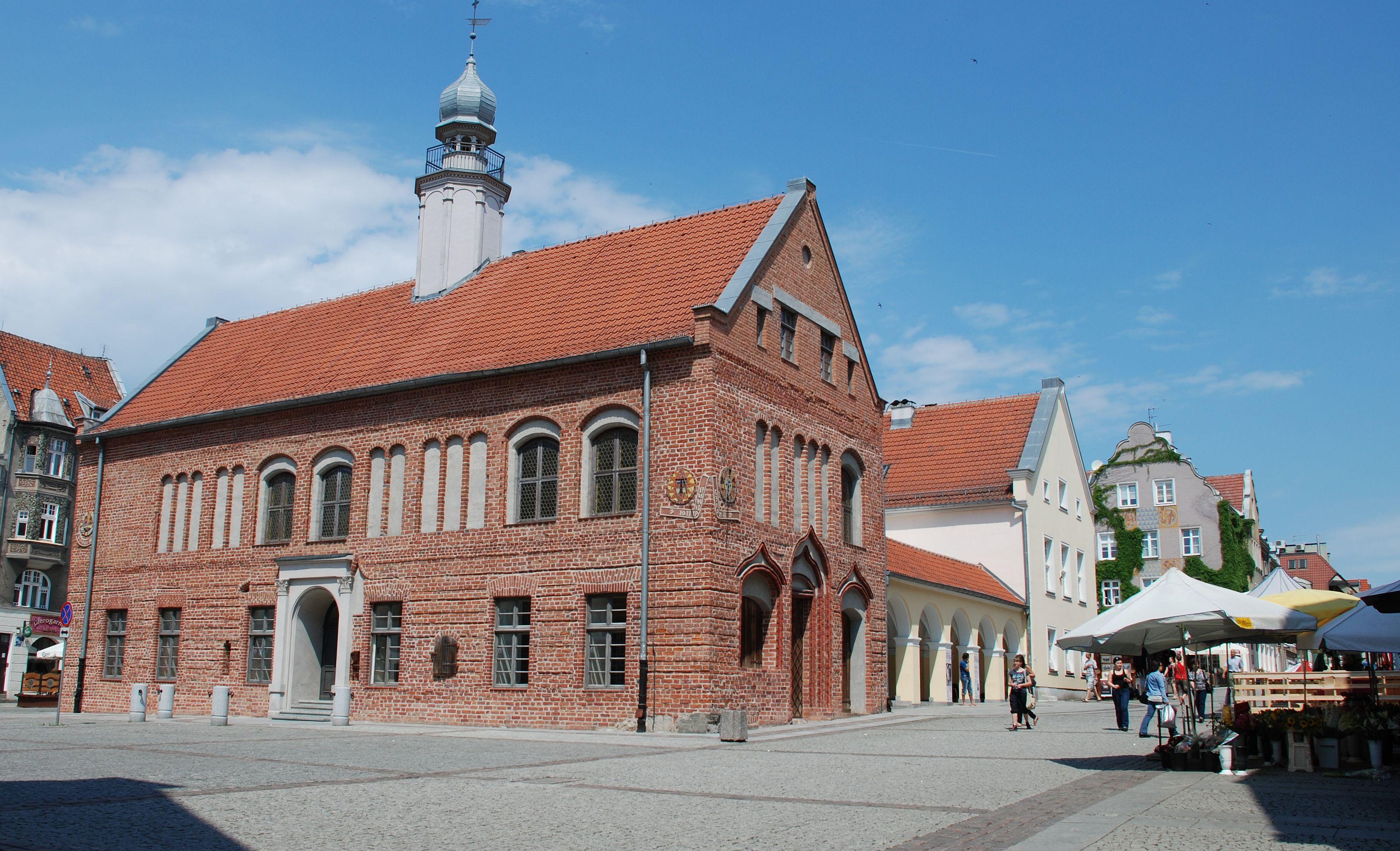 Altes Rathaus Olsztyn (Allenstein), Foto: Brigitte Jäger-Dabek