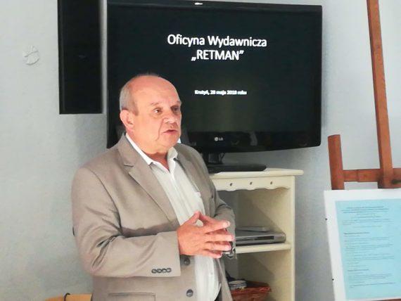 Waldemar Mierzwa stellt seine Bücher vor, Foto: Brigitte Jäger-Dabek
