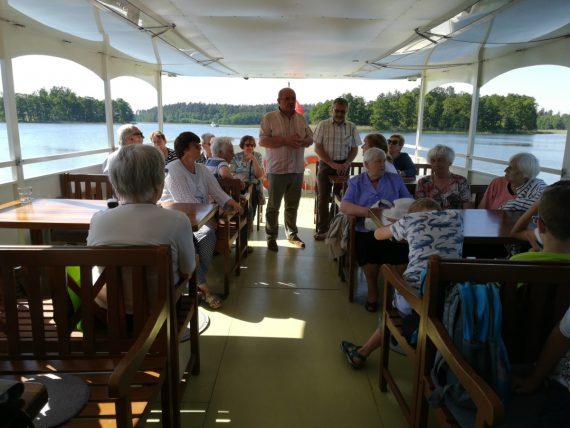 Literatur auf dem Wasser, Foto: Brigitte Jäger-Dabek