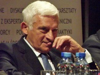 Jerzy Buzek, Ehrenbürger der Woiwodschaft Ermland-Masuren, Foto: Piotr Drabik, CC-BY-2.0