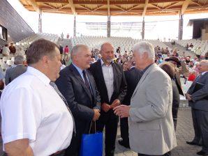 Henryk Hoch, Vors.d, VdGEM, Senator Stanisław Gorczyca, Starost Wlodzimierz Brodiuk, Prof Steiner, Foto: B.Jäger-Dabek