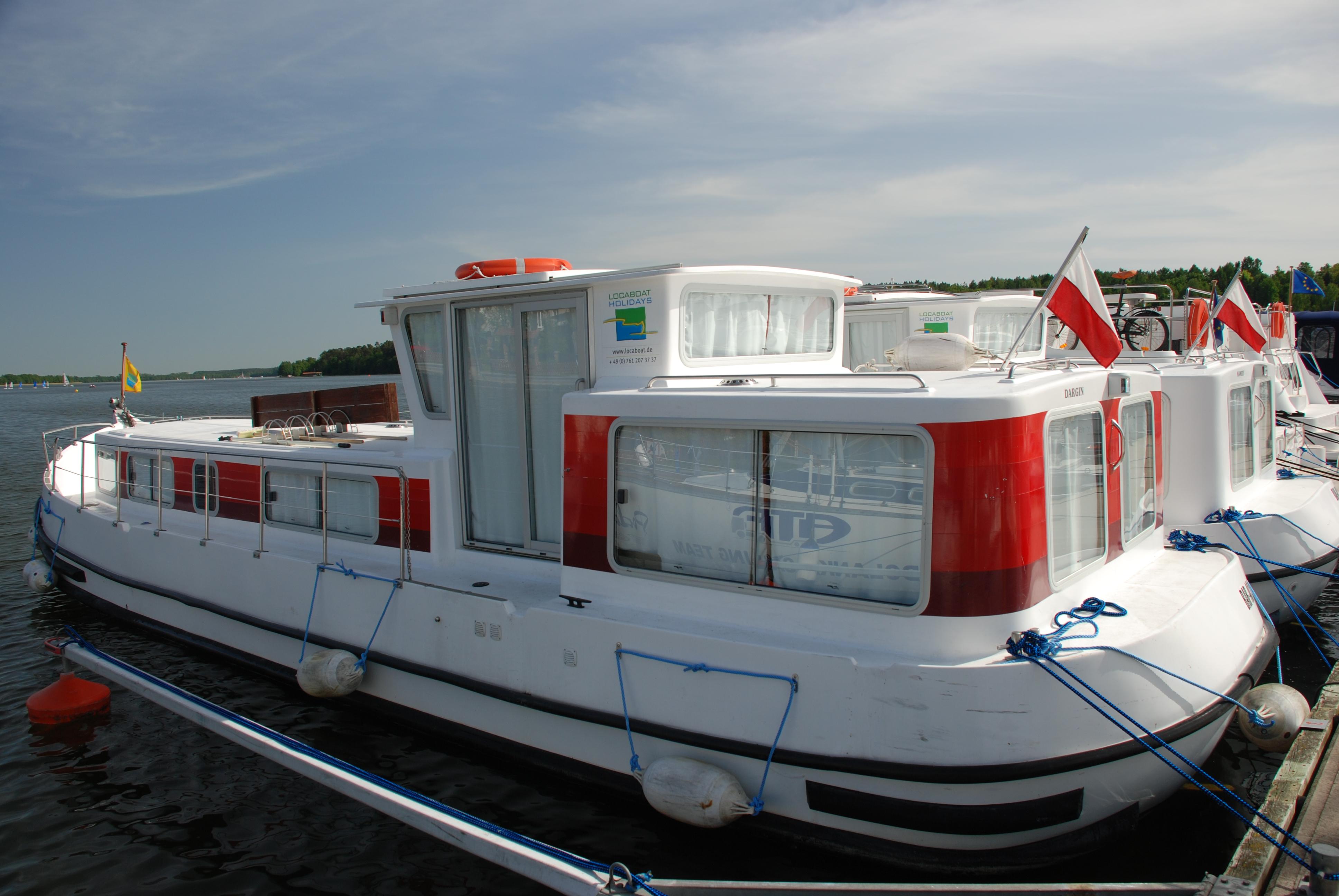 Hausboote in Mikolaiki, Masuren, Foto: B. Jäger-Dabek