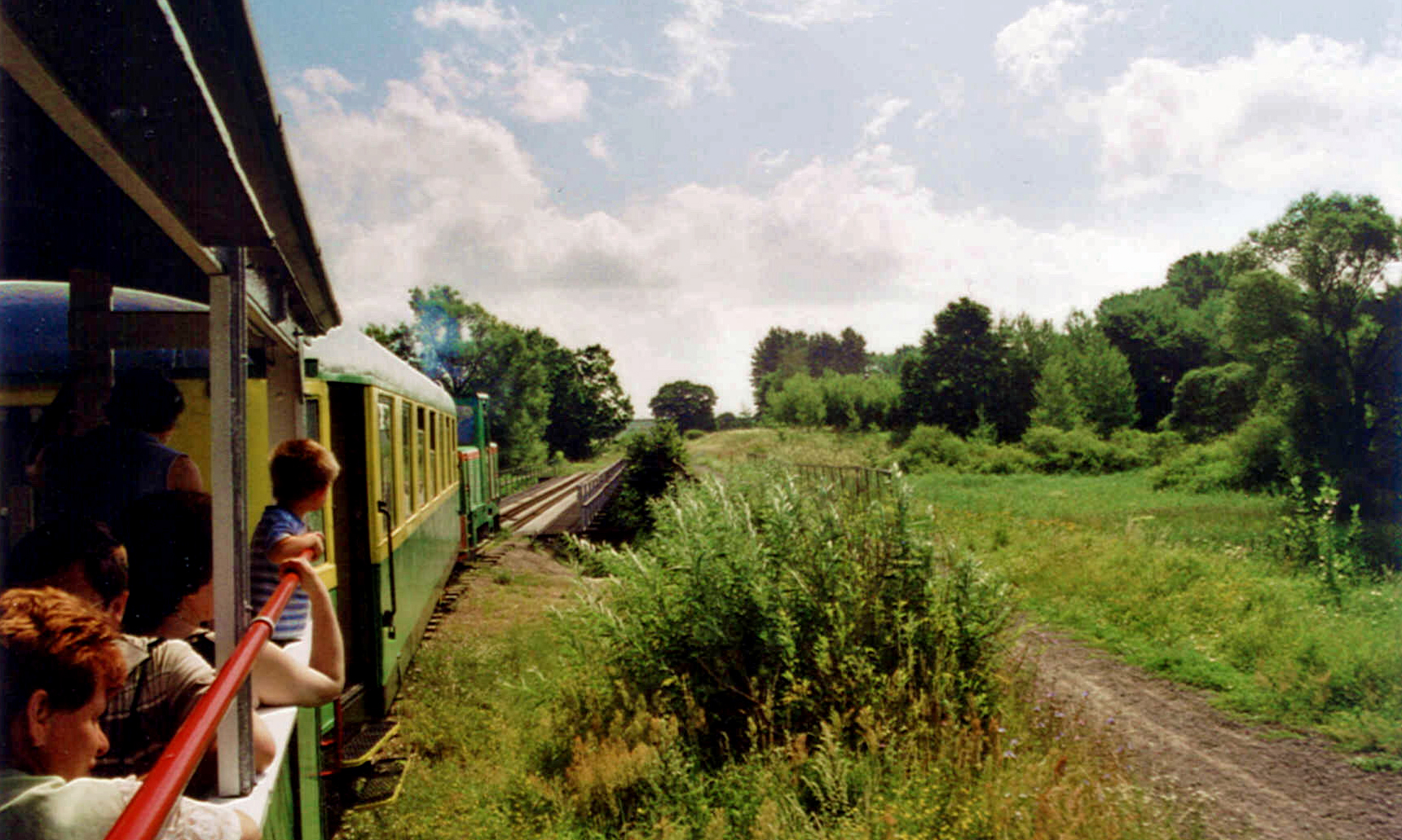 Eine Fahrt mit der Kleinbahn von Elk/Lyck, Foto: B.Jäger-Dabek