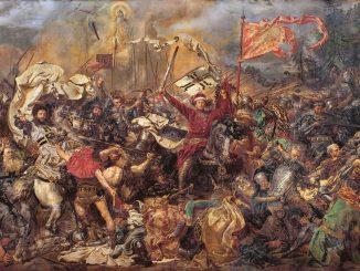 Schlacht von Tannenberg, Gemälde, Jan Matejko(1838-1893), CC-PD