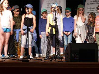 Mit viel Spaß dabei: Gruppe aus Olsztyn nach nur wenigen Monaten Deutschunterricht, Foto: B.Jäger-Dabek