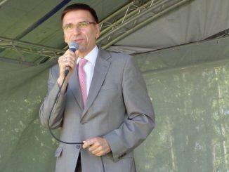 Stadtpräsident Piotr Grzymowicz, Olsztyn, Foto: Brigitte Jäger-Dabek
