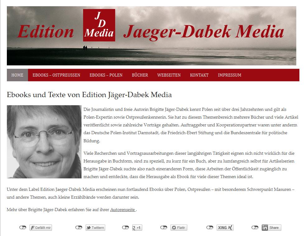 Ebooks von Edition Jaeger-Dabek Media