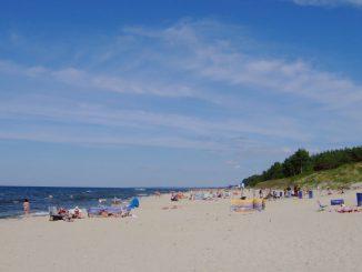 Strand von Krynica Morska/Kahlberg, Foto: Hans Weingartz, CC-BY-SA-2.0-DE.