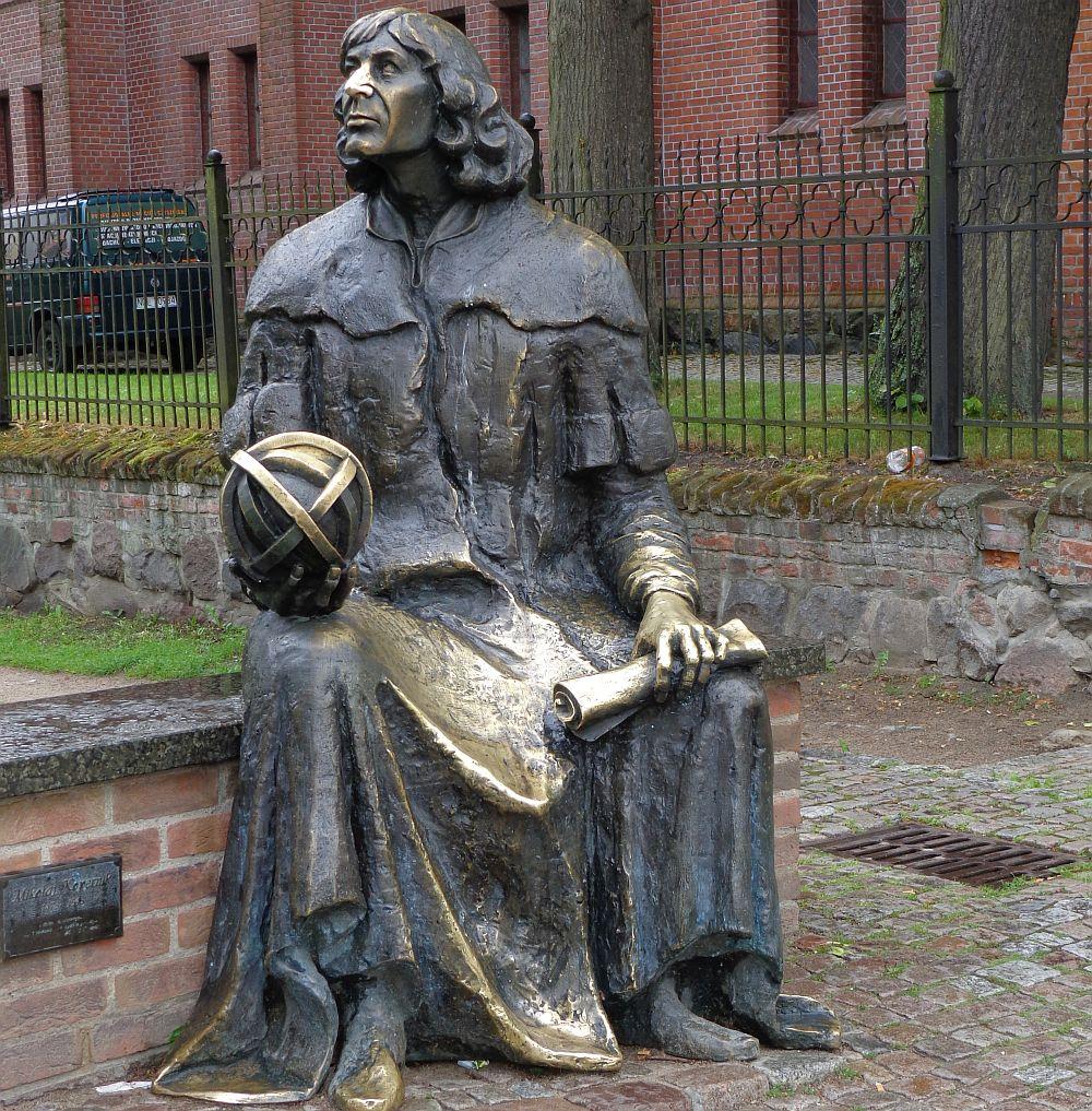 Nikolaus Kopernikus, Olsztyn, Foto: Brigitte Jäger-Dabek