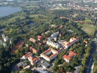 Kortowo (Kortau), Luftaufnahme, Foto: Zbigniew Bosek, CC-BY-SA-2.5