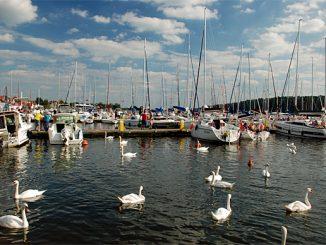 Die Marina in Mikolajki, Foto: © B.Jäger-Dabek
