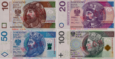 Neue Banknoten in Polen, Foto: http://www.nbp.pl