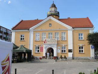 Rathaus in Nidzica/Neidenburg, Foto: Olerys, CC BY-SA 3.0