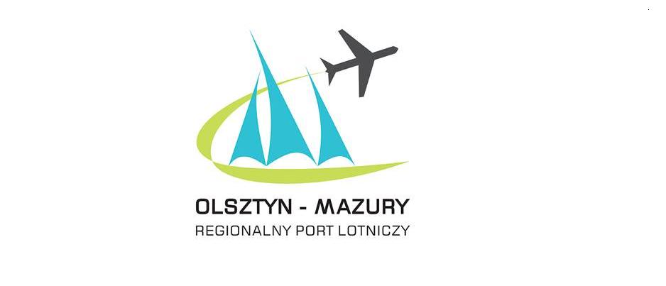 Logo des neuen Regionalflughafens Olsztyn-Mazur