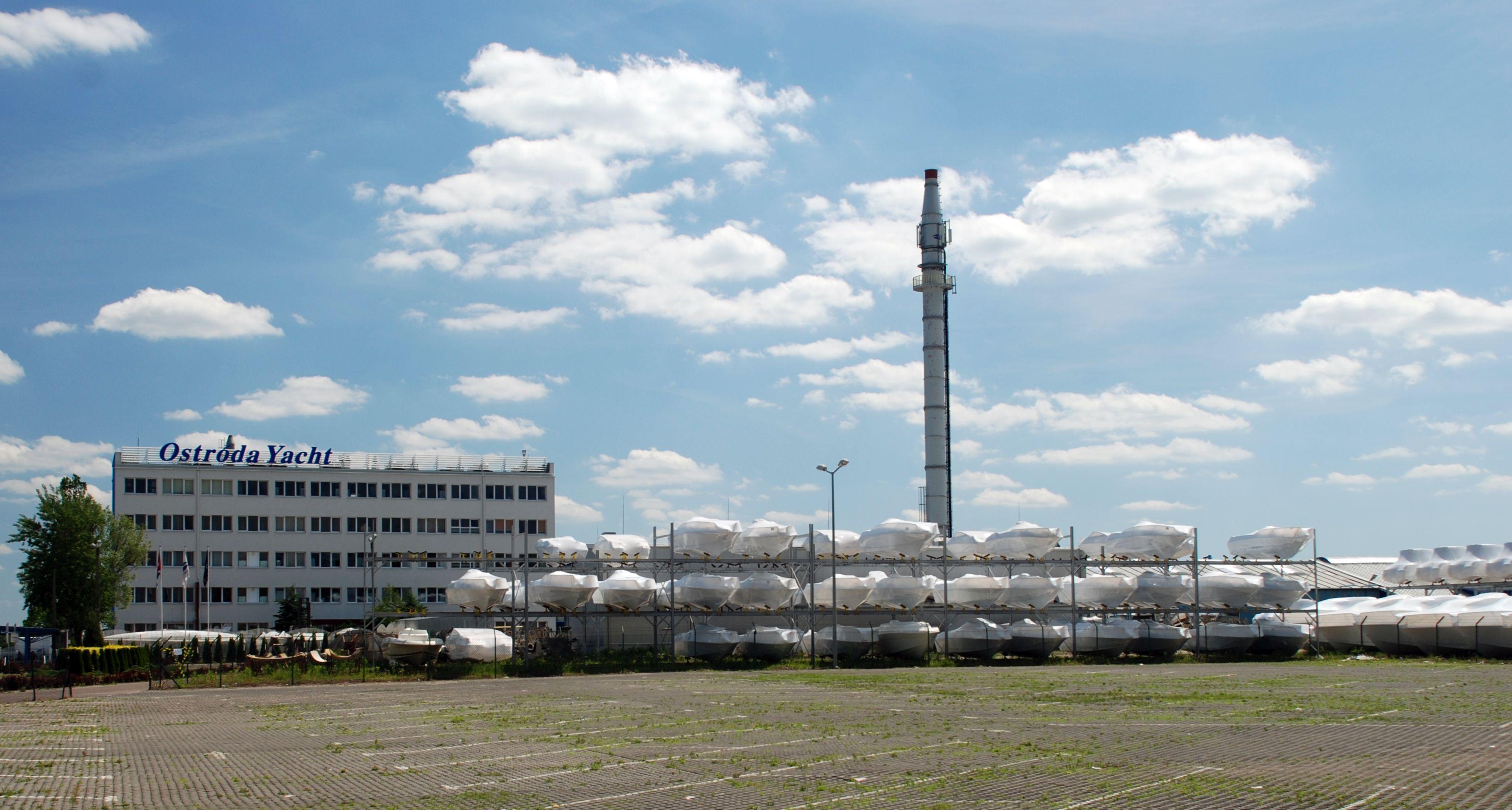 Ostróda Yacht, einer der modernsten Bootswerften Europas, Fot: B.Jäger-Dabek