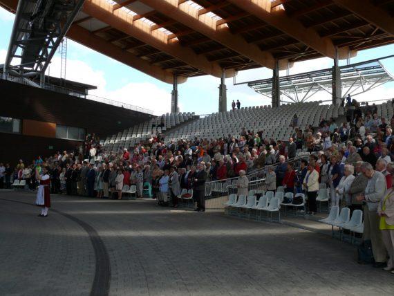 Sommerfest der deutschen Gesellschaften im Amphitheater von Ostróda, Foto: B.Jäger-Dabek