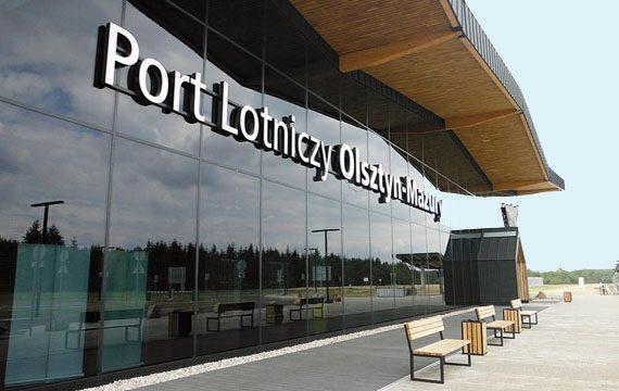 Verbesserte Infrastruktur in Polen Flughafen Olsztyn Mazury