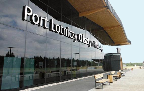 Von Deutschland direkt zum Flughafen Olsztyn Mazury, Foto: Brigitte Jäger-Dabek
