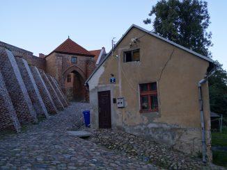 Stadtmauer von Pasłęk, Foto: Anna Denis Aneczka.vip, CC-BY-SA-3.0-PL