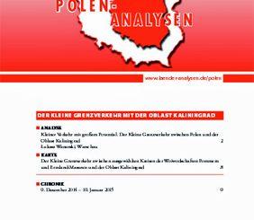 Polen Analysen 156 zum Kleinen Grenzverkehr