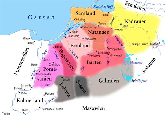 Die prussischen Stämme