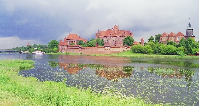 Die Marienburg in Malbork, Foto: B.Jäger-Dabek