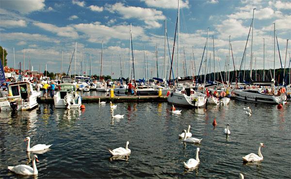 Seglerhafen Mikolajki (Nikolaiken), Foto: B.Jäger-Dabek