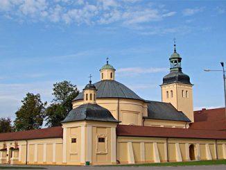 Wallfahrtskirche und Kloster Stoczek Klasztorny im Ermland