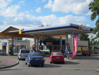 Tankstelle in Białystok, Polen; Foto: Henryk Borawski, CC-BY-SA-3.0