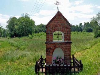Wegkapelle im Ermland, Bertung, (Bartąg), Foto: B. Jäger-Dabek