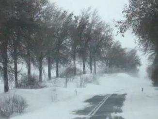 Schneeverwehungen in Masuren, Foto: H. Hoch