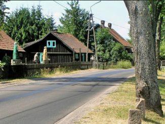 Zgon, Holzhaus des Bildhauers Adam Szubski , Foto: B.Jäger-Dabek