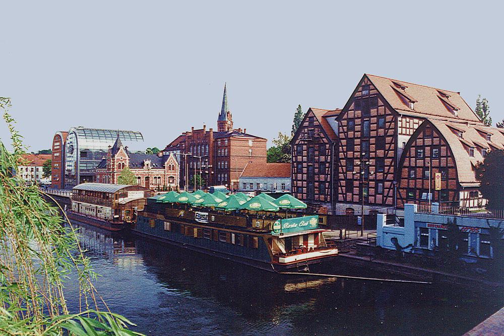 Bydgoszcz, Speicher an der Brahe, Foto. B.Jäger-Dabek