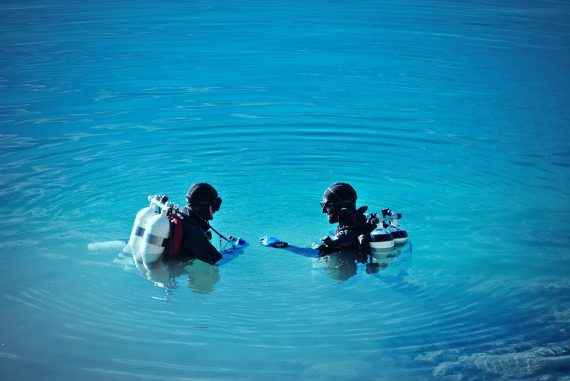 Tauchen in den Seen des Ermlands, Foto: pixabay.com,CC0