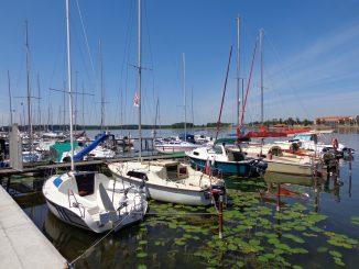 Wassersportparadies Mikolajki an den Großen Seen in Masuren, Foto: B.Jäger-Dabek