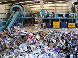 Maschine Trennung von Mischabfällen, Foto: gemeinfrei