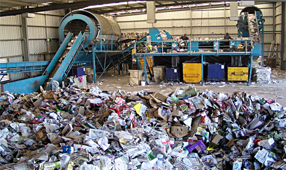 Maschinelle Mülltrennung, ZGOK, Olsztyn