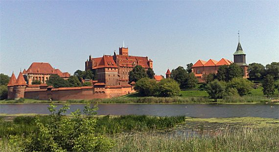 Marienburg in Malbork, Polen, Foto: (c) B.Jäger-Dabek