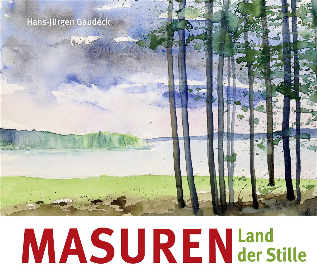 """Buchcover """"Masuren Land der Stille"""", © Steffen Verlag"""