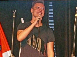 Mateusz Gawronski, Star des 10. Festivals des deutschen Lieds in Ostroda