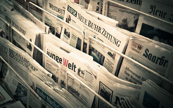 Zeitungen  pixabay.com © MichaelGaida CC0