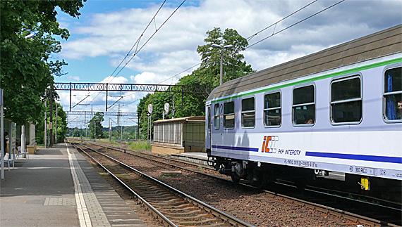 Bahnhof Olsztyn Zachodni (Westbahnhof), Foto: (c) B. Jäger-Dabek
