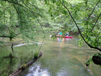 Wasserwandern in Msuren, Foto: B.Jäger-Dabek