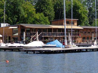 Ausflugsrestaurant Przystan am Okullsee, Olsztyn im alten Bootshaus, Foto: B. Jäger-Dabek