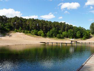 Schwimmbad am jez. Sajmino im westmasurischen Ostróda, Foto: B. Jäger-Dabek