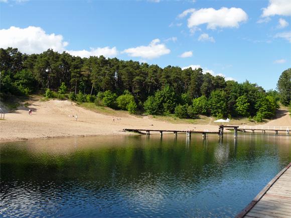 Great Schwimmbad Am Jez. Sajmino Im Westmasurischen Ostróda, Foto: B. Jäger Dabek