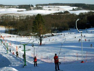 Mrągowo Skilift, Skilauf, Foto: Witold Mierzejewski