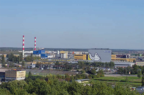 Michelin Polska in Olsztyn, größtes Unternehmen der Region