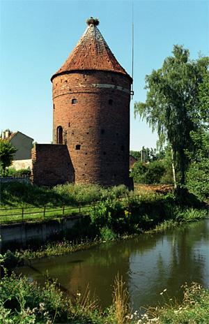 Storchenbastei von Guttstadt (Dobre Miasto), Foto: Jerzy Strzelecki, CC BY 3.0