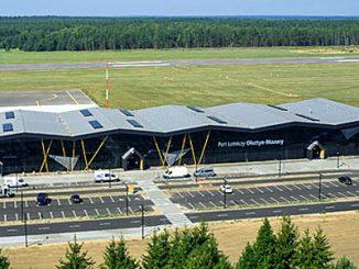 Flughafen Olsztyn-Mazury in Szymany